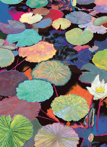 Lilly Pond Note Card