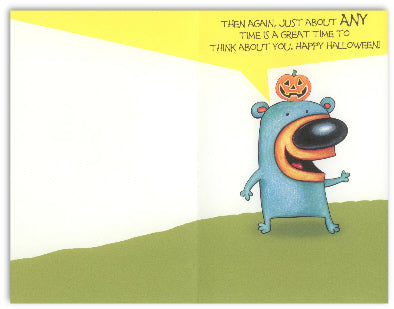 Granddaughter Halloween Card