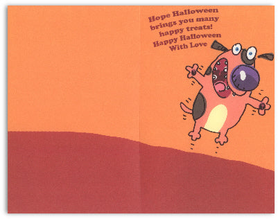 Grandchildren Halloween Card
