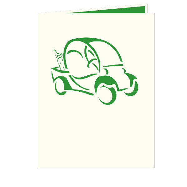 Golf Cart Pop-Up Card