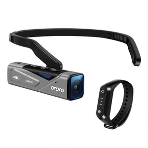 2x Ordro EP7 4K UHD Wearable Camera