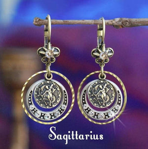 MB Apparels LLC Capricorn - CP Zodiac Ear Jewelry