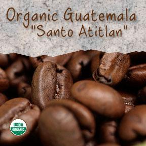 Organic Guatemala 'Santiago Atitlan' Fair Trade Coffee - Coffee At Lulus On N