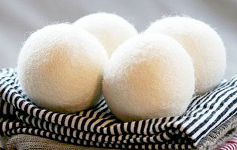 Dryer Balls Woolen 4 Pack