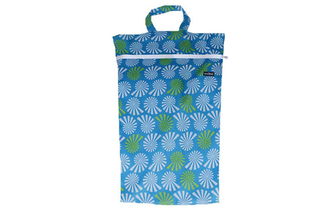 Snazzipants Waterproof Wet Bag Large Blue White