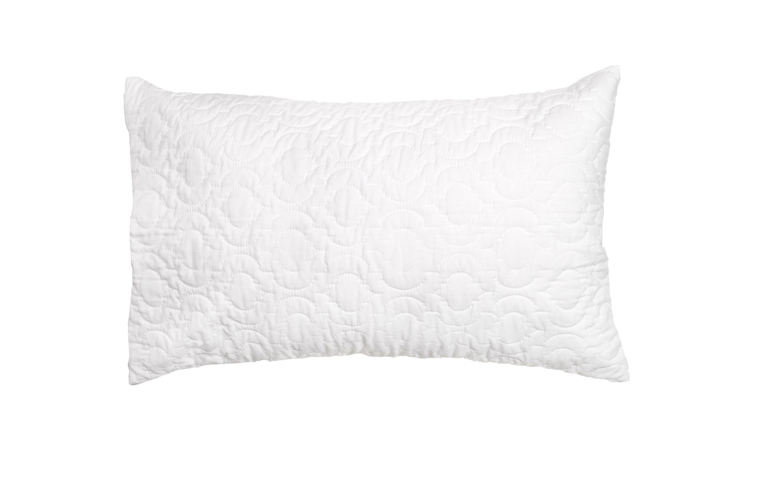 2x Quilted Pillow Protectors