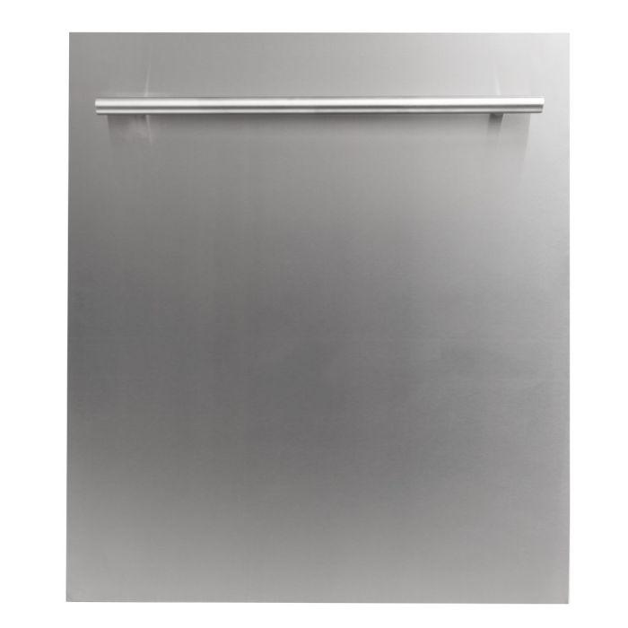 ZLINE 24 in. Top Control Dishwasher In Stainless Steel With Stainless Steel Tub & Modern Style Handle - DW-304-24 - Bison Kitchens