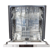Load image into Gallery viewer, ZLINE 24 in. Top Control Dishwasher In Stainless Steel With Stainless Steel Tub & Modern Style Handle - DW-304-24 - Bison Kitchens