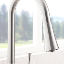 Load image into Gallery viewer, ZLINE Castor Kitchen Faucet in Brushed Nickel (CAS-KF-BN) - Bison Kitchens