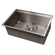 Load image into Gallery viewer, ZLINE Garmisch 27 In. Undermount Single Bowl Sink in Stainless Steel - SLS-27 - Bison Kitchens