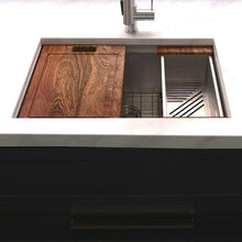 Load image into Gallery viewer, ZLINE Garmisch 33 In. Undermount Single Bowl Sink in DuraSnow® Stainless Steel - SLS-33S - Bison Kitchens