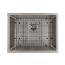 Load image into Gallery viewer, ZLINE Meribel 23 In. Undermount Single Bowl Sink in Stainless Steel - SRS-23 - Bison Kitchens