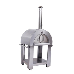 Thor Kitchen Wood Burning Outdoor Pizza Oven in Stainless Steel - HPO01SS - Bison Kitchens