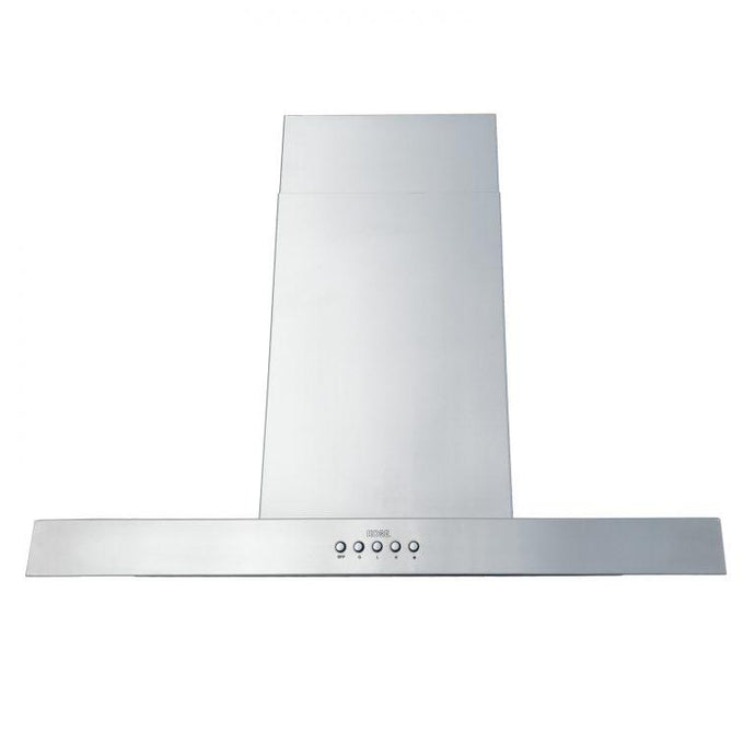 KOBE 30-42 in. Brillia Island Range Hood in Stainless Steel - ISX2130SQB-2 - Bison Kitchens