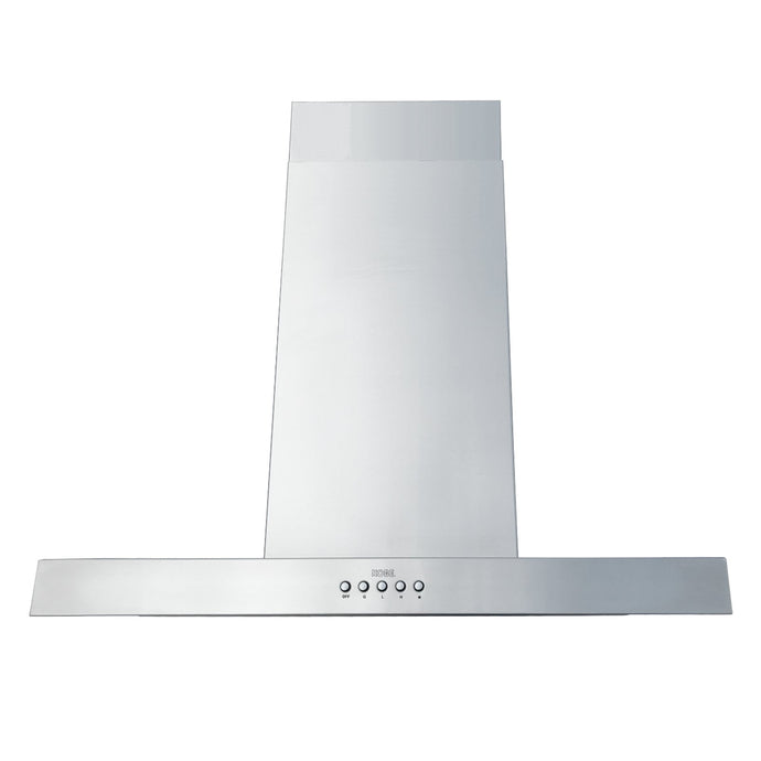 KOBE 30-42 in. Brillia Island Range Hood in Stainless Steel - ISX2130SQB-DC37-2 - Bison Kitchens