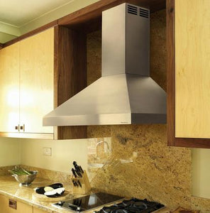 Vent-A-Hood 30-48 in. Wall Mounted Duct-Free Air Recovery System (ARS) European Style Range Hood Black - PDAH14-K30 BL - Bison Kitchens