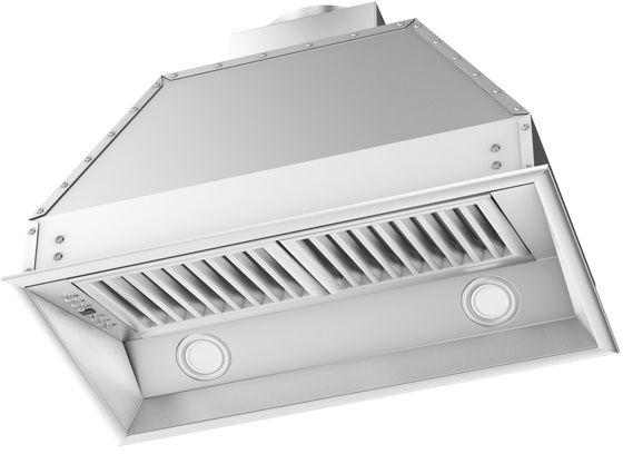 ZLINE 28-46 in.  Outdoor Range Hood Insert Stainless Steel (695-304-28) - Bison Kitchens