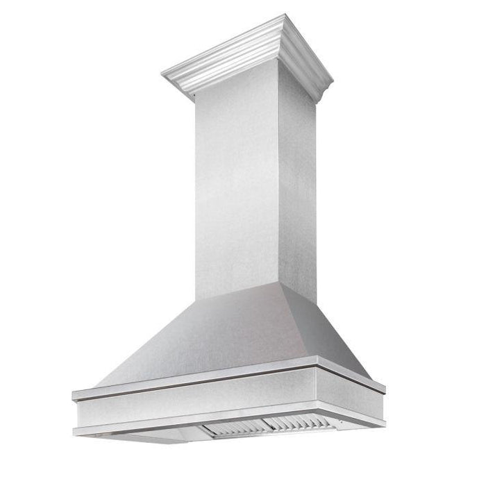 ZLINE 30-36 in. 900 CFM Designer Series Wall Mount Range Hood - (8656S-30) - Bison Kitchens