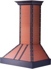 Load image into Gallery viewer, ZLINE 30-36 in. Designer Series Copper Finish Wall Range Hood (655-Cbbbb-30) - Bison Kitchens