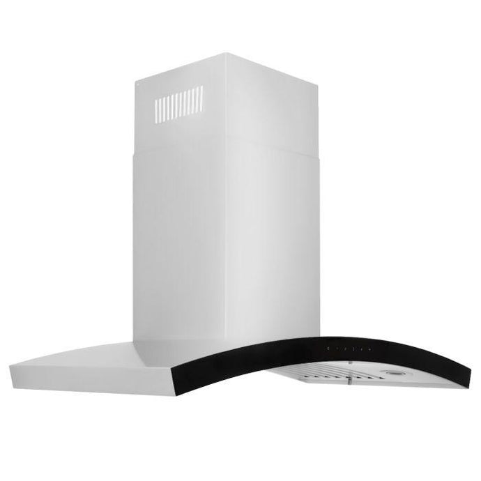 ZLINE 30-36 in. Stainless Steel Wall Range Hood (KN6-30) - Bison Kitchens