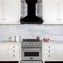 Load image into Gallery viewer, ZLINE 30-36 In. Wooden Wall Mount Range Hood In Black - KPCC-30 - Bison Kitchens