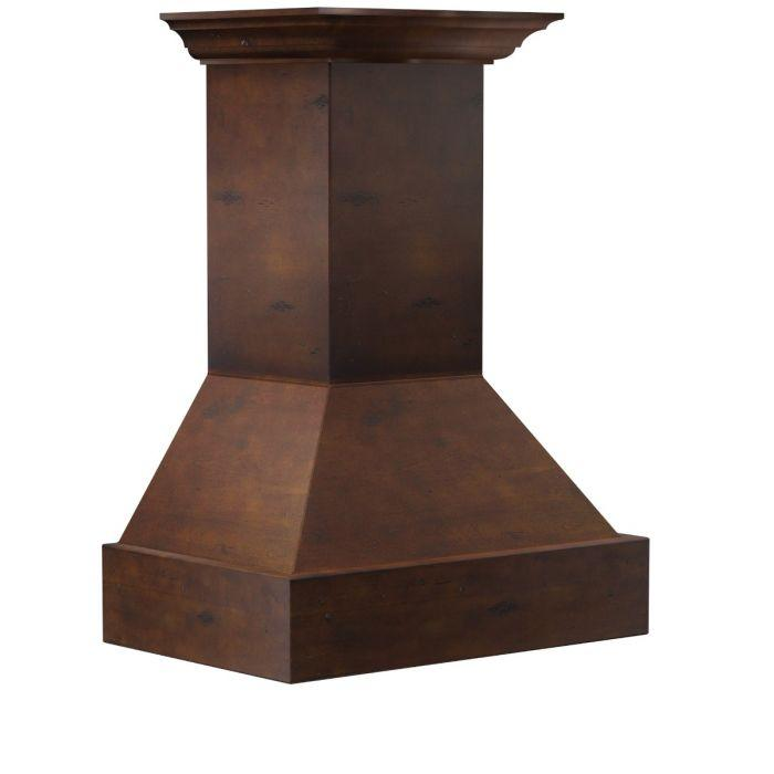 ZLINE 30-36 In. Wooden Wall Mount Range Hood In Valencia - 355VV-RD-30 - Bison Kitchens