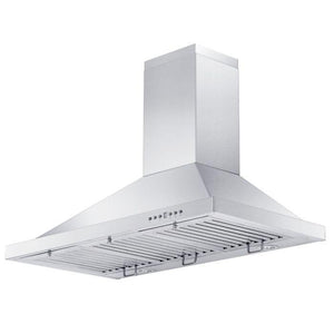 ZLINE 30-48 in. 400 CFM Outdoor Wall Mount Range Hood in Stainless Steel (KB-304-30) - Bison Kitchens