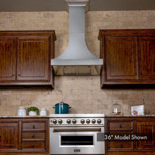 Load image into Gallery viewer, ZLINE 30-48 in. Designer Series DuraSnow® Stainless Steel Wall Range Hood (8632S-30) - Bison Kitchens