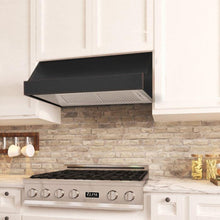 Load image into Gallery viewer, ZLINE 30-48 in. Designer Series Oil-Rubbed Bronze Under Cabinet Range Hood (8685B-30) - Bison Kitchens
