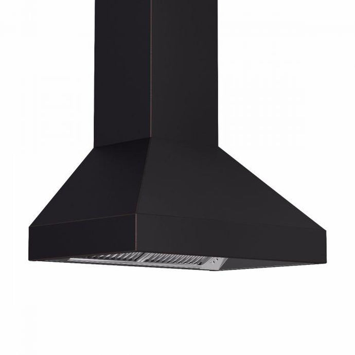 ZLINE 30-48 in. Designer Series Oil-Rubbed Bronze Wall Range Hood - (8667B-30) - Bison Kitchens