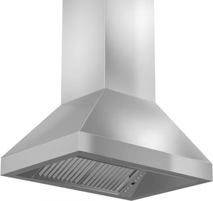 ZLINE 30-48 in. Outdoor Stainless Steel Island Range Hood (597i-304-30) - Bison Kitchens
