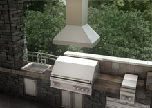 Load image into Gallery viewer, ZLINE 30-48 in. Outdoor Stainless Steel Island Range Hood (597i-304-30) - Bison Kitchens