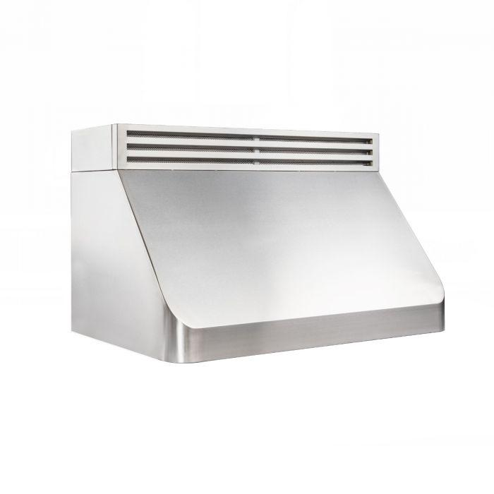 ZLINE 30-48 in. Recirculating Under Cabinet Range Hood in Stainless Steel (RK520-30) - Bison Kitchens