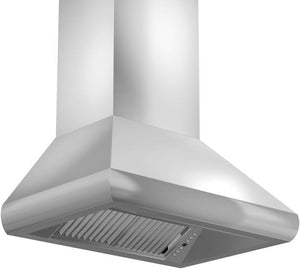 ZLINE 30-48 in. Remote Blower Wall Mount Range Hood in Stainless Steel (587-RD-30) - Bison Kitchens