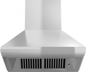 ZLINE 30-48 in. Remote Blower Wall Mount Range Hood in Stainless Steel (587-RS-30) - Bison Kitchens