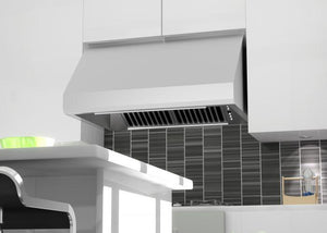 ZLINE 30-48 in. Under Cabinet Range Hood in Stainless Steel (433-30) - Bison Kitchens