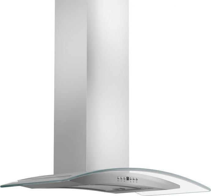 ZLINE 30-48 in. Glass Stainless Steel Wall Range Hood (KN4-30) - Bison Kitchens