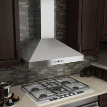 Load image into Gallery viewer, ZLINE 30-48 in. Wall Range Hood with Crown Molding (KL3CRN-30) - Bison Kitchens