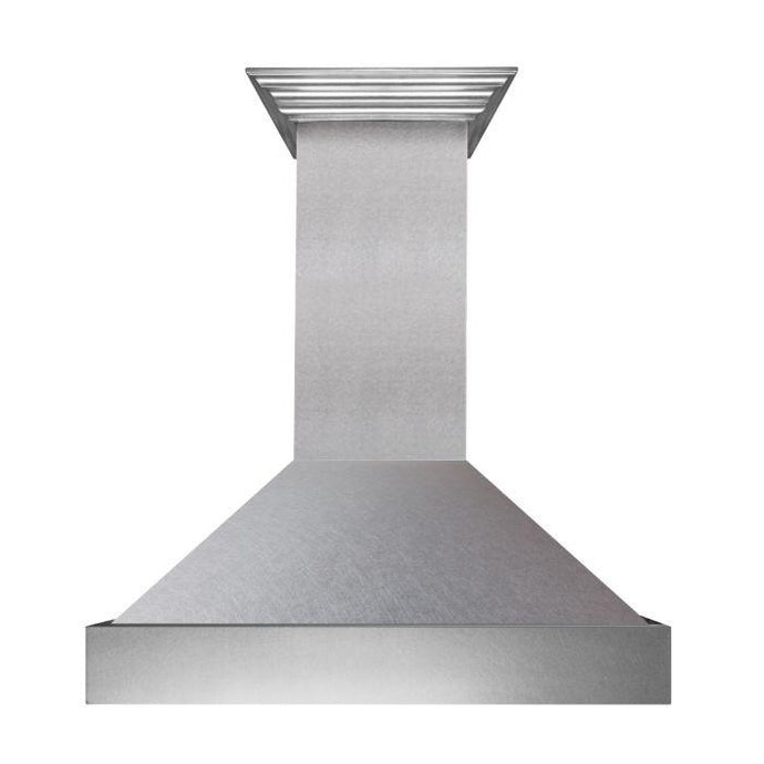 ZLINE 30-48 in. Wall Range Hood with DuraSnow® Stainless Steel (8654SN-30) - Bison Kitchens