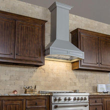 Load image into Gallery viewer, ZLINE 30-36 in. Designer Series Wooden Wall Range Hood with Crown Molding (321UU-30) - Bison Kitchens