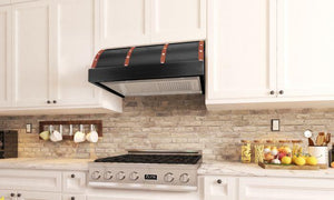ZLINE 30-36 in. 1200 CFM Designer Series Under Cabinet Range Hood (436-BXCCS-30) - Bison Kitchens