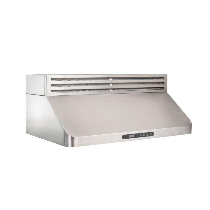 ZLINE 30-48 in. 400 CFM Recirculating Under Cabinet Range Hood In Stainless Steel - (RK619-30) - Bison Kitchens