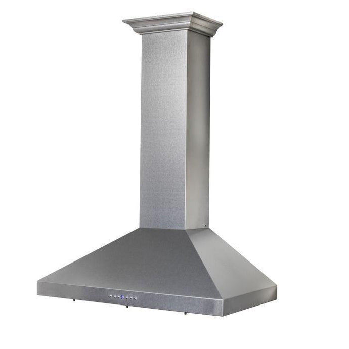 ZLINE 30-36 in. DuraSnow Stainless Steel Wall Mount Range Hood (8KL3S-30) - Bison Kitchens