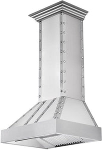 ZLINE 30-48 in. Designer Series Stainless Wall Range Hood (655-4SSSS-30) - Bison Kitchens