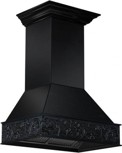 ZLINE 30 In. Wooden Wall Mount Range Hood In Antigua - 373AA-RD-30 - Bison Kitchens