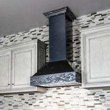 Load image into Gallery viewer, ZLINE 30 In. Wooden Wall Mount Range Hood In Antigua - 373AA-RD-30 - Bison Kitchens