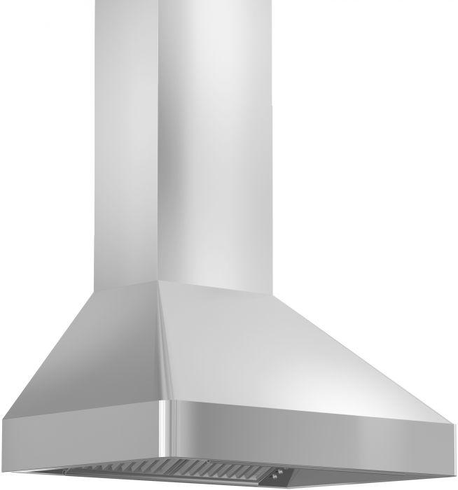 ZLINE 30-36 in. Stainless Steel Wall Mount Range Hood (9697-30) - Bison Kitchens
