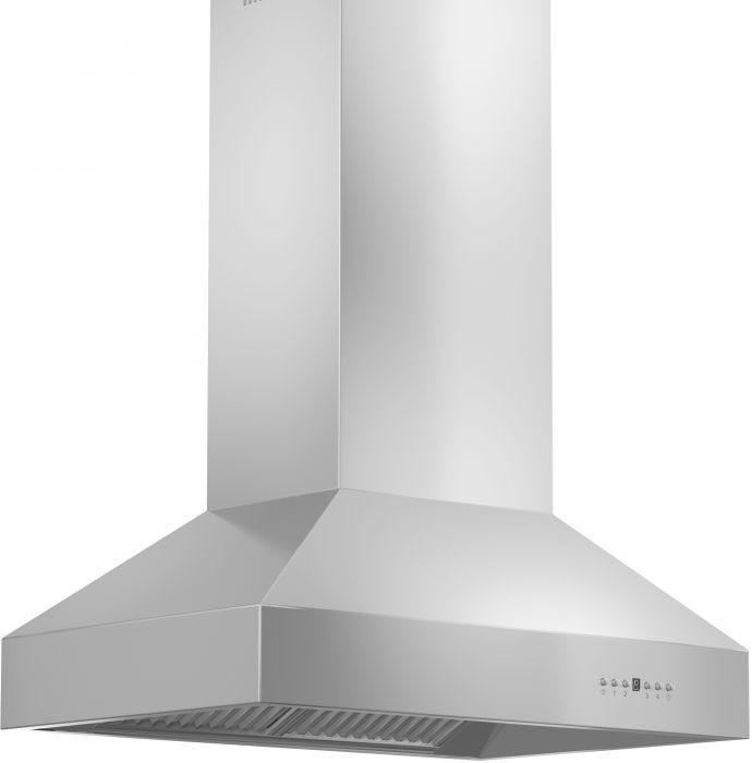 ZLINE 36-60 in. Stainless Steel Island Range Hood (697i-36) - Bison Kitchens