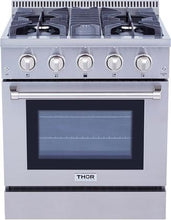 Load image into Gallery viewer, Thor Kitchen 30 inch Professional Stainless Steel Gas Range - HRG3080U - Bison Kitchens