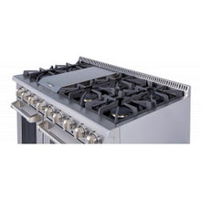 Load image into Gallery viewer, Thor Kitchen 48 in. 6 Burner Stainless Steel Professional Gas Range - HRG4808U - Bison Kitchens